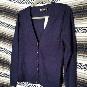 Sapphire color new light cardigan.
